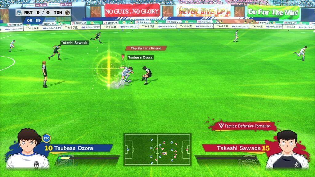 Captain Tsubasa Rise of New Champions download free