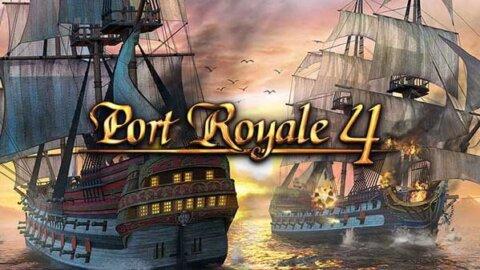 Port Royale 4 logo